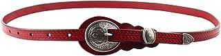 Cinturones finos para cinturón Cinturón de cuero original para mujer de Lady'S Vintage Cinturón de hebilla de diseñador