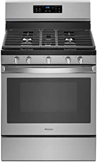 Whirlpool WFG550S0HZ 5.0 Cu. Ft. Stainless Freestanding Convection Gas Range