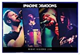 Close Up Imagine Dragons Poster Night Visions Live (63,5x94