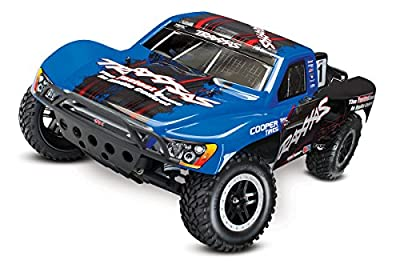 Traxxas Automobile 58076-4 Slash 2WD 1/10 Brushless Short Course Truck with Tqi 2.4GHz Radio
