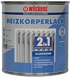 Wilckens 2-in-1 Heizkörperlack, 750 ml, glänzend weiß 10493200050