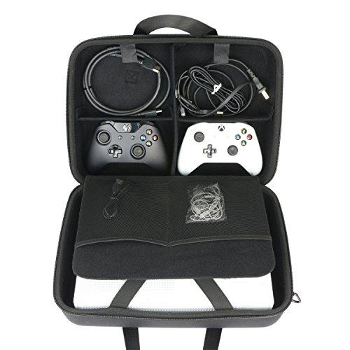para Microsoft Xbox One X - Consola EVA Funda Estuche Bolso by Khanka