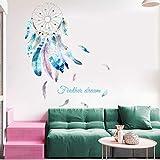 Sueño de niña pegatinas de pared dormitorio sala de estar mural calcomanías vinilo adhesivo catcher DIY mural cartel decoración del hogar