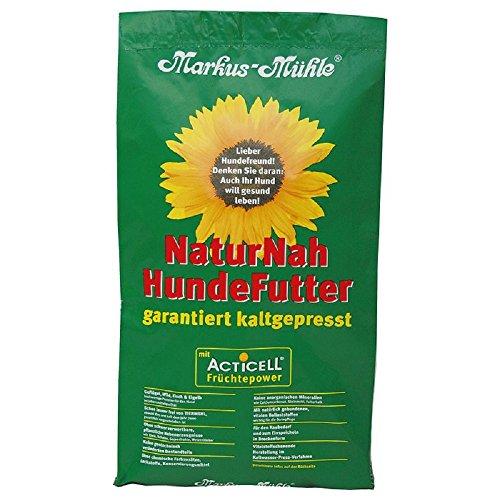 """Markus Mühle – Trockenfutter """"NaturNah"""", für Hunde, hergestellt mit sorgfältig ausgewählten, natürlichen Inhaltsstoffen,15kg"""