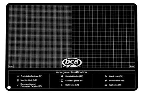 Backcountry Access Aluminum Crystal Card