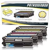 Patronenbob® - Juego de 4 cartuchos de tóner XL compatibles TN-421 / TN-423 para Brother DCP-L8410CDW, HL-L8260CDW, HL-L8360CDW, MFC-L8690CDW, MFC-L8900CDW, TN421, TN423