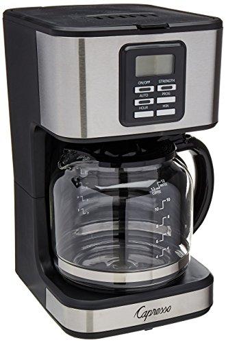 Capresso 427.05 Coffee Maker, Stainless Steel