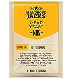 Levadura para vino de miel, 10 g/25 l, Mangrove Jacks, levadura seca, vino metacrilato, levadura de vino, vino blanco y vino tinto, levadura natural