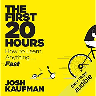 The First 20 Hours audiobook cover art