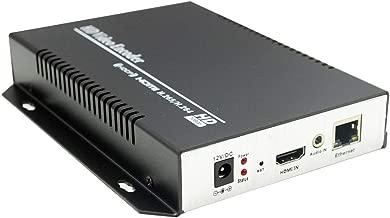 URayCoder HEVC H.265 H.264 HDMI Encoder HD Video IP Encoder H.265 H.264 Digital TV HDMI to RTSP RTMP HTTP UDP HLS ONVIF Encoder Transmitter for IPTV TV System, Live Broadcast, Recording System etc