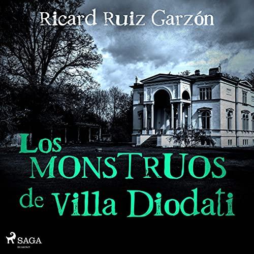 Diseño de la portada del título Los monstruos de Villa Diodati