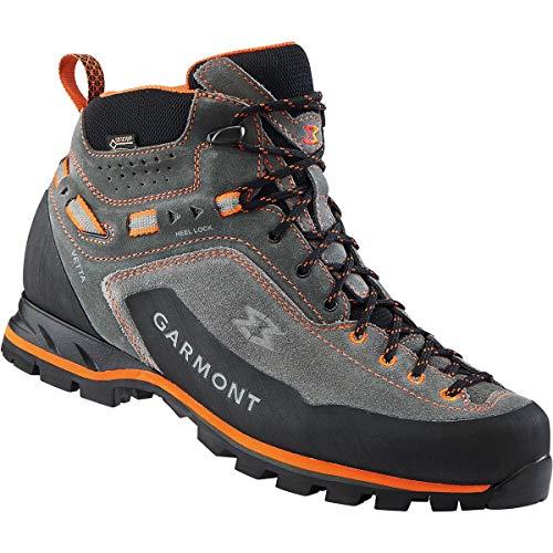 GARMONT Herren Vetta GTX Schuhe, Dark Grey-orange, UK 7