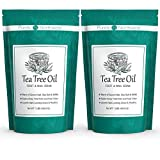 Tea Tree Oil Foot Soak with Epsom Salt - Made in USA, Alleviate Toenail Fungus, Athlete's Foot and Stinky Foot Odors. Softens Calloused Heels, Leaves Feet Clean and Healthy -16oz (Pack of 2)
