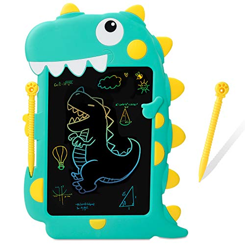 SS LCD Writing Tablet, Writing Tablet for Kids,8.5 ' Drawing Tablet Pad Doodle Board Scribble and Play for 3-10 Years Old Boys/Girls Gifts Education Learning Toys Dinosaur