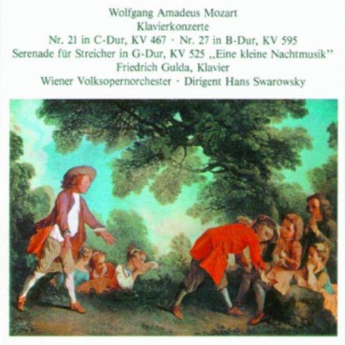 Konzert für Klavier und Orchester Nr.21 in C-Dur, KV. 467,2.Satz - Andante