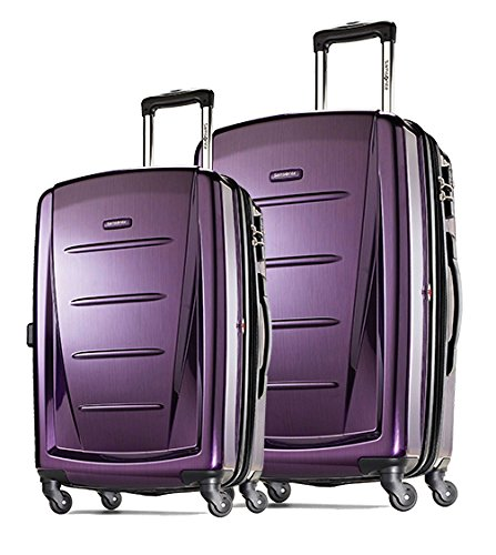Samsonite Winfield 2 Fashion Two-Piece Spinner Set (20'/28'), Purple