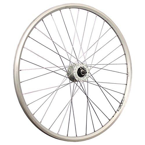 Taylor-Wheels 28 Zoll Vorderrad Laufrad ZAC2000 / Rollenbrems-Nabendynamo - Silber