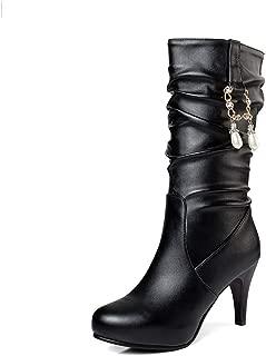 BalaMasa Womens ABS14062 Pu Boots
