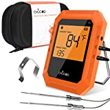 BBQ Meat Thermometer, Bluetooth Remote Cooking Thermometer, Digital Oven Thermometer with 6 Probe...