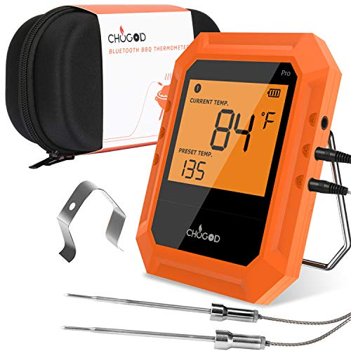 BBQ Meat Thermometer, Bluetooth Remote Cooking Thermometer, Digital Oven...