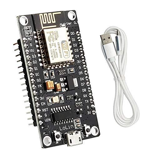 Snone YXPCARS NodeMCU Modul ESP8266 ESP-12E V3 Lua WiFi Internet Development Board ESP-12E Entwicklungsboard mit CH340 CH340G Chip