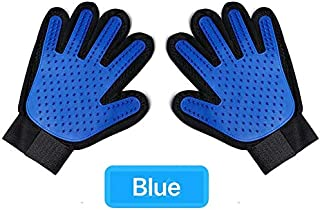 SUNPIN Pet Grooming Gloves, Hair Removal Gloves, Gentle dusting Brushes and Massage Tools for Dogs, Perfect Long and Short...