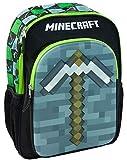 Minecraft Moulded 3D Pickaxe Kids Backpack Children's School Bag Boys/Girls Rucksack