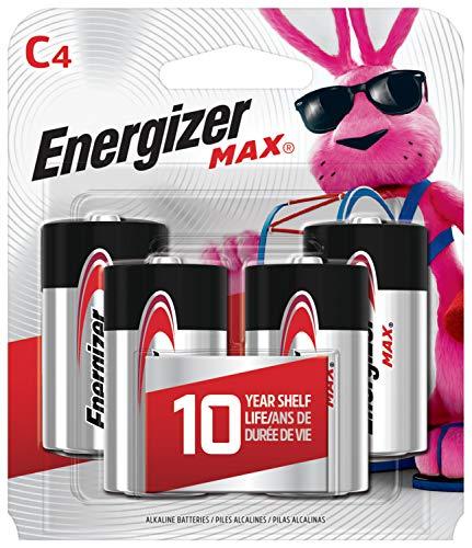 Energizer 4pk MAX Alkaline C Batteries