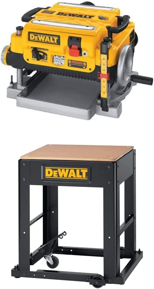 DEWALT DW735 13-Inch Two Speed Sta New Shipping Max 80% OFF Free Thickness with Planer