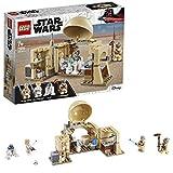 LEGO 75270 Star Wars La cabane d'Obi-Wan, Set de construction avec hologramme de la princesse Leia, Série Un nouvel espoir