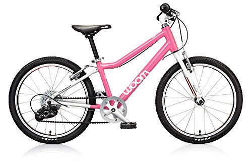 "woom 4 Pedal Bike 20"", 8-Speed, Ages 6 to 8 Years, Pink"