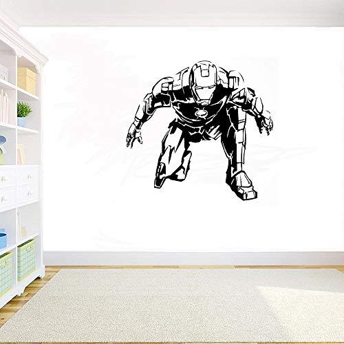 Yaonuli Vinyl muursticker strip afneembare muursticker Hero kind slaapkamer decoratie accessoire