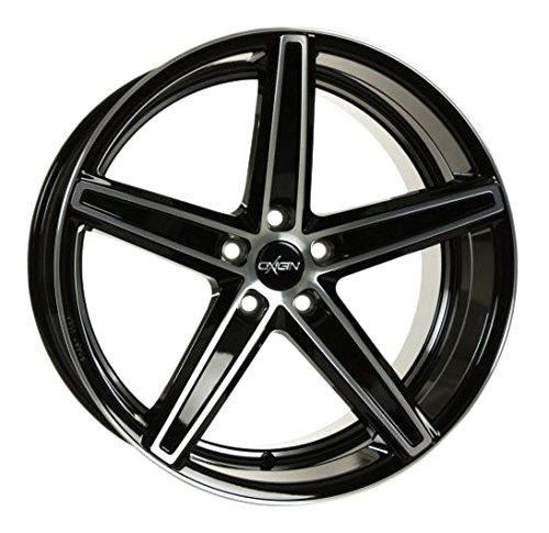 OXIGIN 18 Concave black full polish 8,5x19 ET45 5.00x112.00 Hub Bore 66.60 mm - Alu felgen