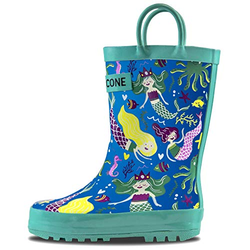 Lone Cone Rain Boots with Easy-On Handles in Fun Patterns...