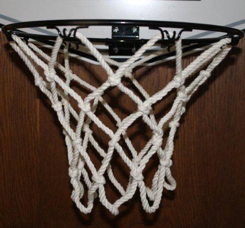 Basketballkorb Basketball Korb Netz Ersatznetz Ballnetz 5mm, Baumwolle 8 Loch