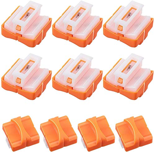 10 Pieces Paper Cutter Replacement Blade Paper Trimmer Replacement Blade Cutting Replacement Blades Paper Trimmer Blades Refill for Coupon, Craft Paper, Label and Photo