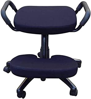 Office Kneeling Chairs Ergonomically Designed Knee Adjustable with Handle Ergonomic Posture Helps Prevent Coccyx Pain