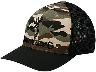 Branded Flex Fit Mesh Back Hat Ball Cap - Camo