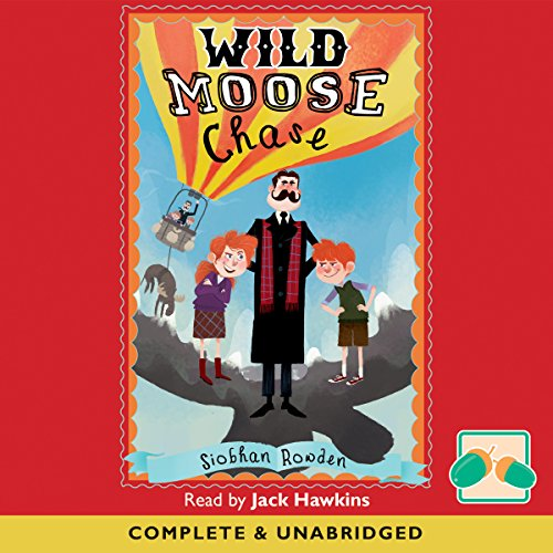 Wild Moose Chase audiobook cover art