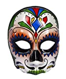 Forum Novelties Men's Day Of The Dead Male Costume Mask, Multi Colored, One Size