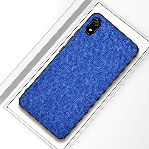 MKOKO Durable Funda Protectora de Tela a Prueba de Golpes PC + TPU Funda Protectora Case Case for iPhone 11 Pro MAX (Color : Blue)