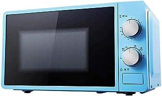 20L pequeño horno de microondas multifuncional 220 V calentador de alimentos giratorio mecánico cocina de vapor/calefacción/ebullición cocina-azul