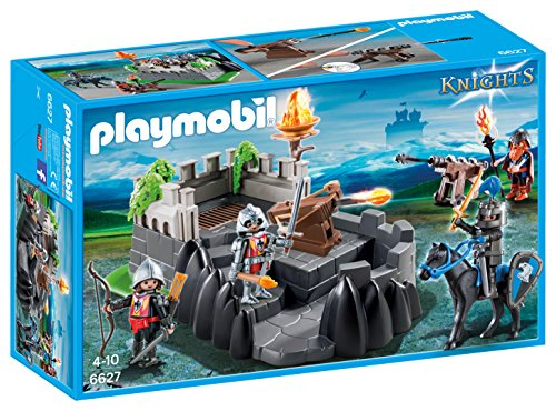 PLAYMOBIL Caballeros- Dragon Knights\' Fort Playset, Multicolor, Miscelanea (6627)