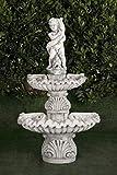 AnaParra Fuente de Pared de hormigón clásica Segura 73x50x130cm. - Fuente de...