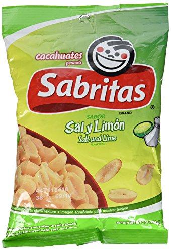 Sabritas Salt & Lime Peanuts 7 oz
