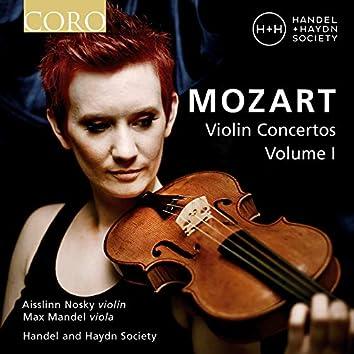 Mozart Violin Concertos, Vol. I (Live)