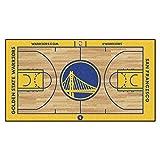 FANMATS 9487 NBA Golden State Warriors Nylon Face NBA Court Runner-Small,Team Color,24x44