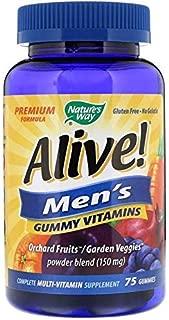 Nature's Way, Alive, Men's Gummy Vitamins, 75 Gummies