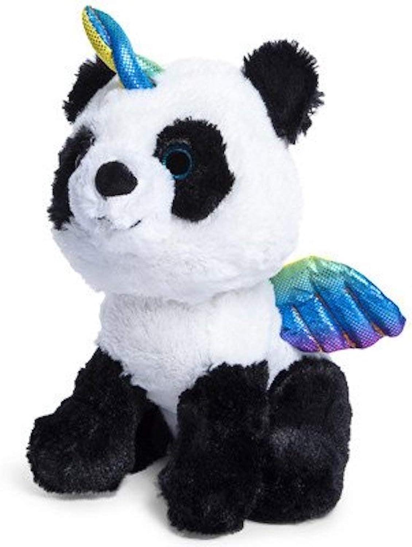 Cute & Cuddly Pandacorn Plush Toy Panda Bear Unicorn with Rainbow Horn and Wings Panda-Corn