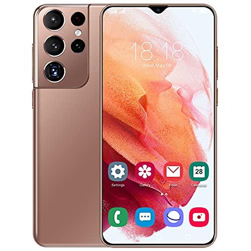 Moviles Libres 5G, Android 11.0 4GB RAM + 64GB ROM/128GB Scalable Teléfono Móvil Libre, 6.7 Pulgadas Full-Screen Smartphone Libres, Dual SIM, 50MP Dual Cámara Face ID Moviles Buenos
